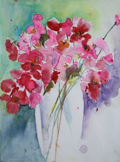 Watercolour - Spring Flowers donagh.mengel.com.au