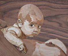 """Saatchi Art Artist Dusan Rakic; Painting, """"baby"""" #art"""