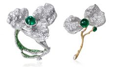 Cindy Chao Black Label 2016 Masterpieces with emeralds and diamonds