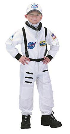 Aeromax 153078 NASA Astronaut Jr. Anzug Wei- Kleinkind-Kind-Kost-m Gr--e: Large (12-14)