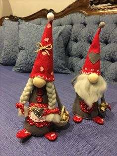 Sokki or Faxi Gnome Tomte Nisse Tonttu Etsy Christmas, Christmas Gnome, Scandinavian Christmas, Christmas Crafts, Christmas Ornaments, Family Valentines Day, Pink Christmas Decorations, Scandinavian Gnomes, Sewing Projects For Kids