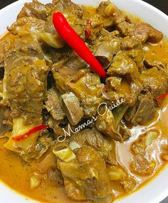 Kalderetang buto buto sa gata ala Batangas style. Yummy beef caldereta special with coconut milk. You gotta try it and they wont forget this dish.