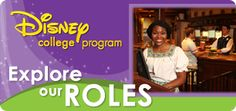 Interested in the Disney College Program? Check out the possible roles and Apply Today.