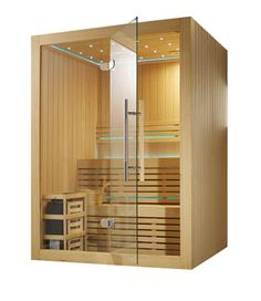 Monalisa Small New Design Sauna and Steam Room picture from Guangzhou Monalisa Bath Ware Co. view photo of Sauna Room, Sauna, Sauna House. Sauna Steam Room, Sauna Room, Saunas, Basement Sauna, Indoor Sauna, Sauna House, Small Home Gyms, Dry Sauna, Sauna Design