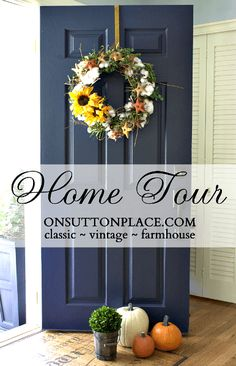 Home Tour & maroon front door with tan house - Google Search | Home ... Pezcame.Com