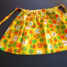 poppy vintage apron