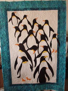 Ramona Quilter Fun with Fabric: Another Penguin Quilt