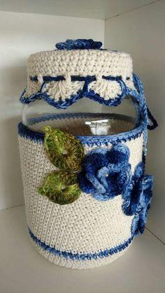 Granny Pattern, Crochet Basket Pattern, Crochet Flower Patterns, Crochet Flowers, Knitting Patterns, Crochet Books, Crochet Home, Crochet Baby, Free Crochet