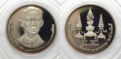 1992 Thailand THAILAND 10 Baht 1992 FATHER OF KING RAMA IX Cu-Ni Proof SCARCE!!! # 95710 Proof