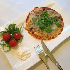 Magic mini pizza, LCHF/paleo