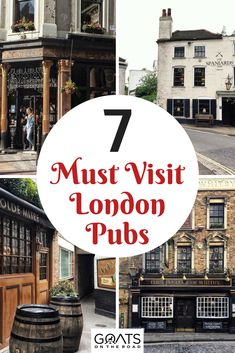 7 Historic London Pubs You Need to Visit London Travel Guide & Things To Do In London & Where To Drink London & Source by certifiedbook England And Scotland, England Uk, London England, Oxford England, Cool Places To Visit, Places To Travel, Travel Destinations, London Travel Guide, Sightseeing London