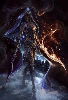 Dark souls 3 art : Dancer of the Boreal Valley by Artarrwen on Deviantart Art Dark Souls, Dark Art, Dark Souls 3 Dancer, Dark Fantasy, Fantasy Art, Soul Saga, Arte Obscura, The Dancer, Illustration Mode