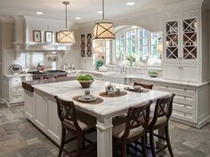 large eat in kitchen island - Google Search