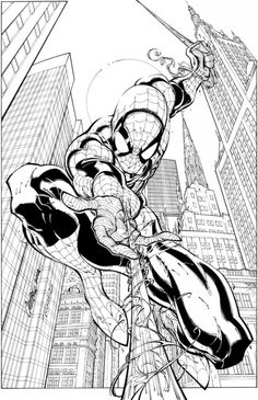 Here are the Amazing Coloring Spiderman Colouring Pages. This post about Amazing Coloring Spiderman Colouring Pages was posted under the Coloring Pages . Comics Spiderman, Spiderman Kunst, Spiderman Drawing, Spiderman Coloring, Marvel Comics Art, Comic Book Artists, Comic Artist, Comic Books Art, Tsum Tsum Coloring Pages