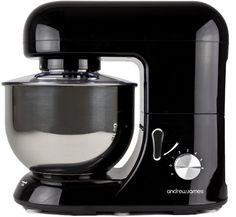 Andrew James Electric Food Stand Mixer In Stunning Black, Includes 2 Year Warranty, Splash Guard, 5.2 Litre Bowl, Spatula And 128 Page Food Mixer Cookbook Andrew James http://www.amazon.co.uk/dp/B006VSAPA0/ref=cm_sw_r_pi_dp_R6.Uub1NEN75D