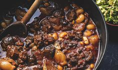 yotam ottolenghi's spicy venison stew with guacamole (& other recipes inc apple pudding) Ottolenghi Recipes, Yotam Ottolenghi, Chef Recipes, Cooking Recipes, Healthy Recipes, Diabetic Recipes, Asian Recipes, Cooking Tips, Healthy Food