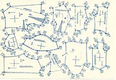 Lutterloh 1938 Book Of Cards -  Models Diagram Card 31