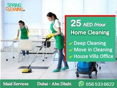 Move In Cleaning, Deep Cleaning, Spring Cleaning, Commercial Cleaning Services, Cleaning Companies, Nanny Agencies, House Maid, Dubai City