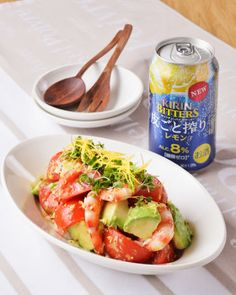 アボカドとトマトのレモンマスタードサラダ