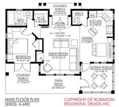 Love this floor plan.