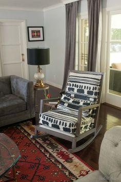 Use a vintage stool