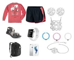 """So Tired"" by nataliejanehenderson ❤ liked on Polyvore featuring NIKE, Chaco, Allurez, The North Face and Everest"