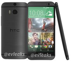 "HTC ""The All New One"" (M8) 銀色, 灰色現身"