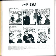 A scanned Jane Eyre comic from Kate Beaton's Hark a Vagrant! 2 of 4