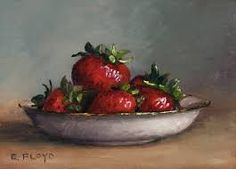 images paintings of strawberries - Google Search