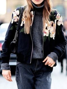 The bomber jacket is a great alternative to a denim jacket to instantly make an outfit look more casual.www.stylestaples.com.au