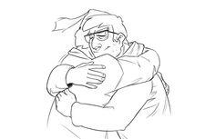 Awkward Sibling Hug pt.2