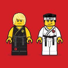 Karate Kid||80s Movies Remembered In Lego - Design - ShortList Magazine