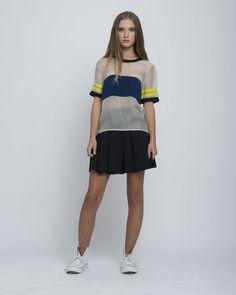 Jennifer Chun, Silk OrganzaT-Shirt, $250, availablehere.