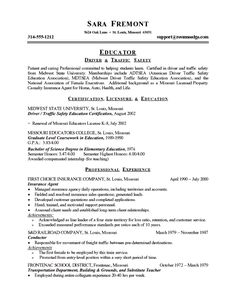 educator resume template we provide as reference to make correct and good quality resume - Criminal Justice Resume Samples