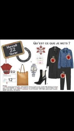 Autour du #pantalon #noir. #blacktrousers #jeans http://www.2minutesjemhabille.fr/fr/mercredi-22-fevrier-avec-le-pantalon-noir/