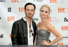 Scoot McNairy and Whitney Able attend the 'Jack Goes Boating' Premiere during the 35th Toronto International Fillm Festival at Isabel Bader Theatre on September 12, 2010 in Toronto, Canada.