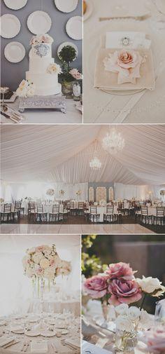 Pretty tent wedding. Tent Wedding, Chic Wedding, Wedding Details, Wedding Blog, Wedding Events, Our Wedding, Wedding Themes, Dream Wedding, Wedding Decorations