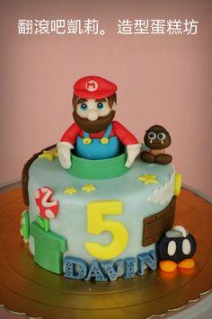 #Mario Cake #Birthday cake https://www.facebook.com/RollRollKelly