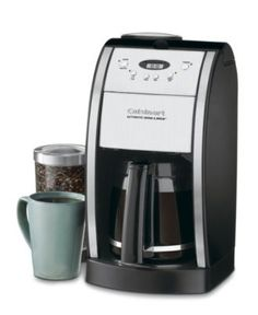 Cuisinart DGB-550 Coffee Maker, Grind & Brew 12-Cup Automatic - Coffee Makers - Kitchen - Macy's
