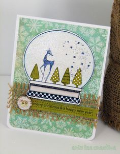 erin lee creative: Snowglobe Wonderland