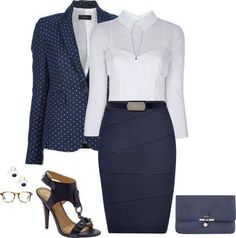Cute for work look classico nel 2019 fashion, work attire e office outfits. Fashion Mode, Office Fashion, Work Fashion, Womens Fashion, Ladies Fashion, Street Fashion, Fashion News, Fall Fashion, Fashion Trends