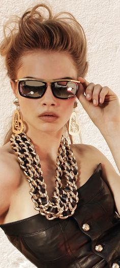 Cara Delevingne for Dsquared2 Eyewear Collection 2013