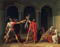 Le Serment des Horaces est un tableau du peintre français Jacques-Louis David, achevé en 1785. Ce tableau est considéré comme un des chefs-d'œuvre du néoclassicisme tant dans son style que dans sa description austère du devoir. Le tableau est de grande taille : 330 centimètres de hauteur et 425 centimètres de largeur. Il est conservé au Musée du Louvre.