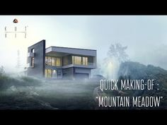 Making of Mountain Meadow - 3D Architectural Visualization & Rendering Blog