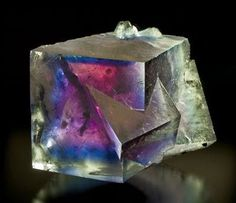 Fluorite - Germany Minerals And Gemstones, Crystals Minerals, Rocks And Minerals, Stones And Crystals, Crystal Magic, Mineral Stone, Rocks And Gems, Natural Crystals, Krystal