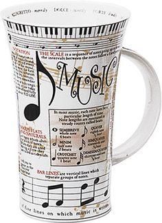 Shop online for 'Dunoon Glencoe Mugs Music Mug'