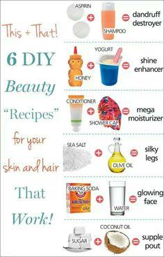 #DIY #beauty #recipes
