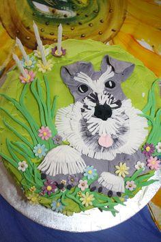 Minature Schnauzer, I love this cake!!!