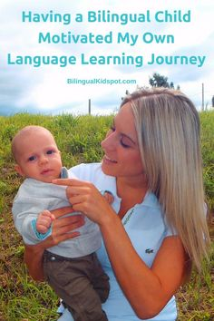Having a bilingual child motivated my own langauge learning journey Learning A Second Language, Learn A New Language, Teaching English, Learn English, My Newborn Baby, Birthing Classes, Bilingual Education, Global Citizen, Italian Language