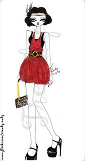 fashion illustrations ▲ - un álbum en Flickr